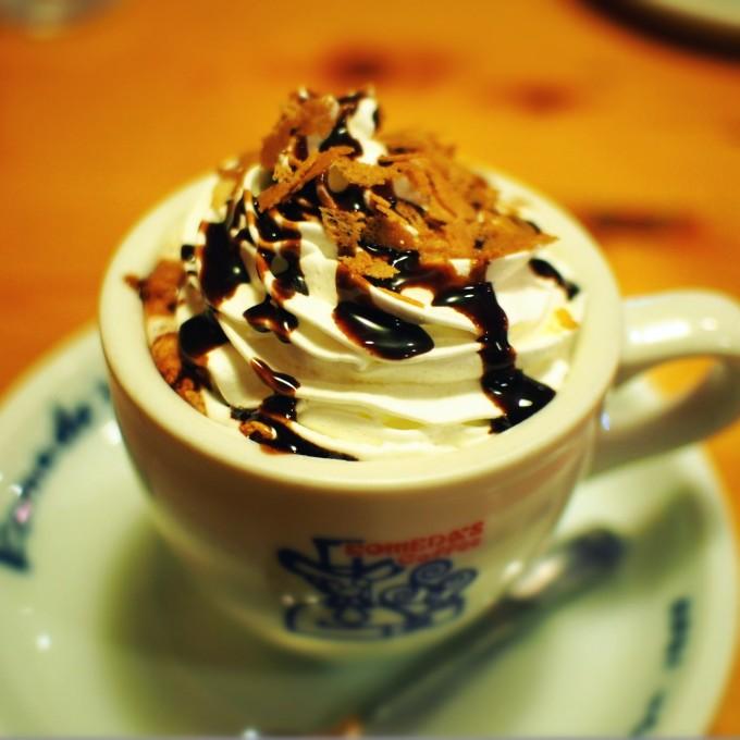 コメダ珈琲 期間限定ホットドリンク キャラメラート&チョコラートを飲んでみた!