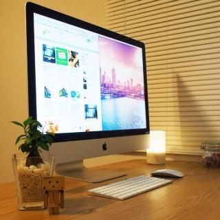 新型iMac 27インチRetina 5K購入!21.5インチと迷ったけど決め手は価格!そして圧倒的な解像度!