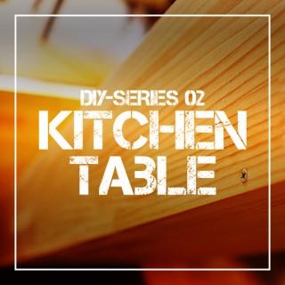 【DIY】キッチン作業台作り-その2│1500mmのワイドな自作カウンターテーブル!ヤスリがけからニス塗り・組み立てまで!【初心者】