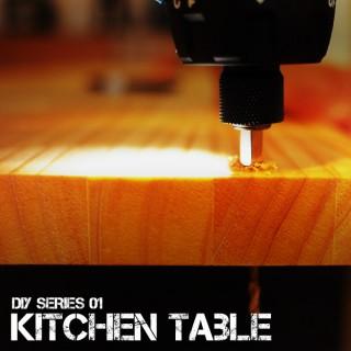 【初心者DIYキッチン作業台-1】パン作りだって出来ちゃう広さ1550x850mmを自作!図面づくりから材料購入まで!
